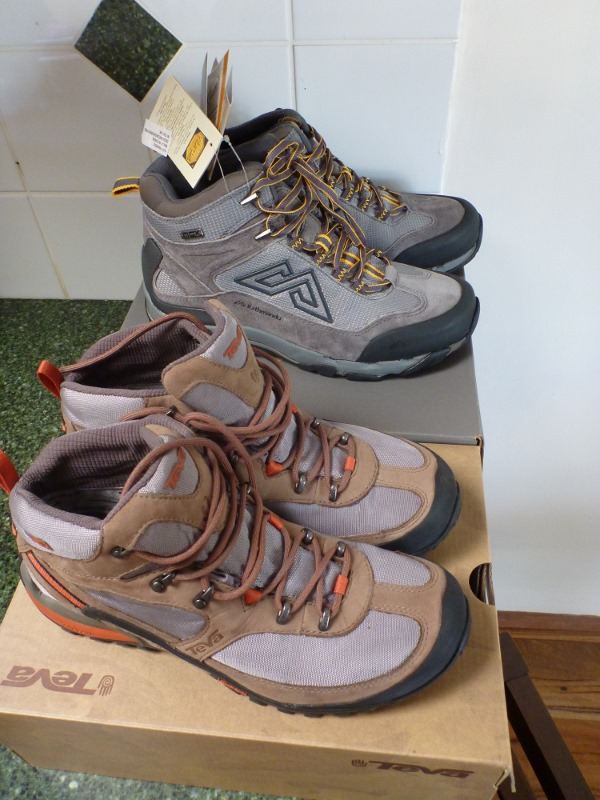 new hiking boots for australian tour