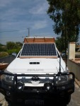 solar panels on hilux