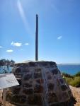 john cove beach rock cairn