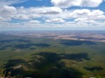 view from top of bluff knoll to carpark
