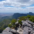 view from top of bluff knoll stirling ranges