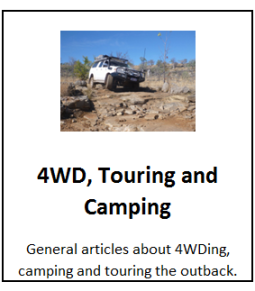 4WD, Touring and Camping