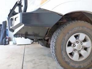 arb steel bullbar approach angle
