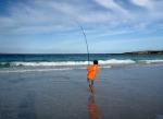 Catching Salmon, Poison Creek, Cape Arid National Park