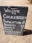 cocklebiddy pub sign