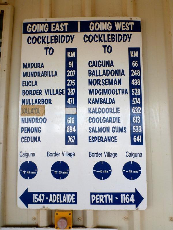 cocklebiddy sign