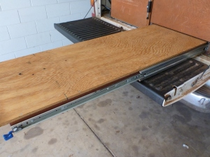 dunn and watson 227kg lockable drawer slide