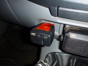 ebay 120W inverter plugged in