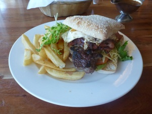 esperance the pier hotel steak sandwich