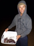 Hopetoun Cuttlefish caught off jetty