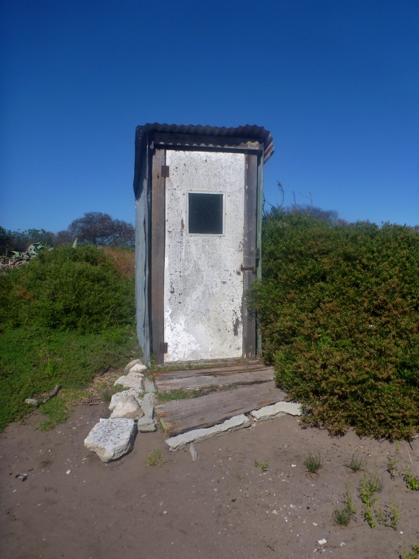 israelite bay old outhouse