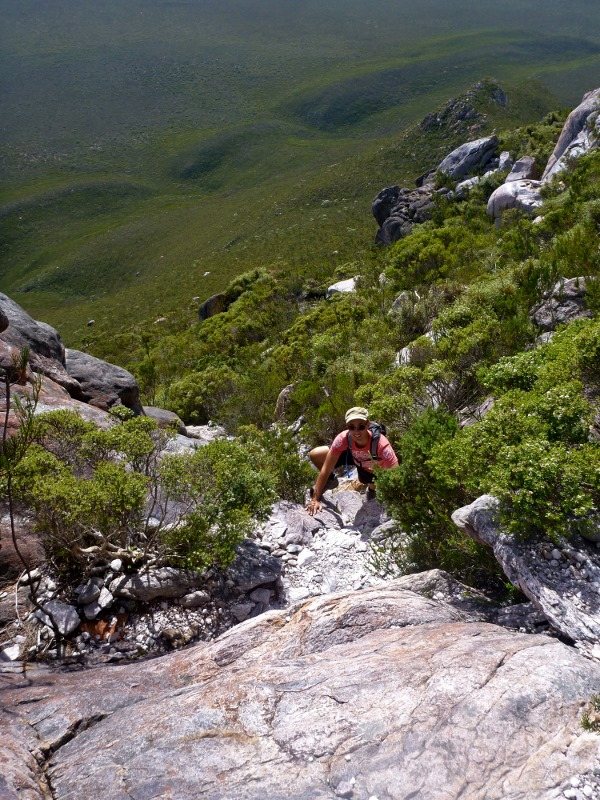 joe climbing mt ragged cape arid national park