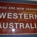 leaving western australia into south australia