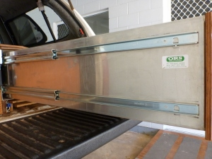 off road systems aluminium drawers side