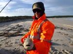 Salmon caught at Poison Creek, Cape Arid