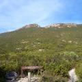 start of mt ragged climb