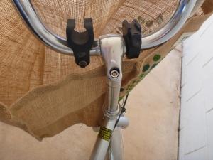 stowabike folding bike handlebars