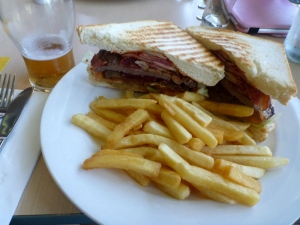 Weipa Bowls Club Steak Sandwich