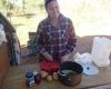 Davenport Ranges dinner preparation