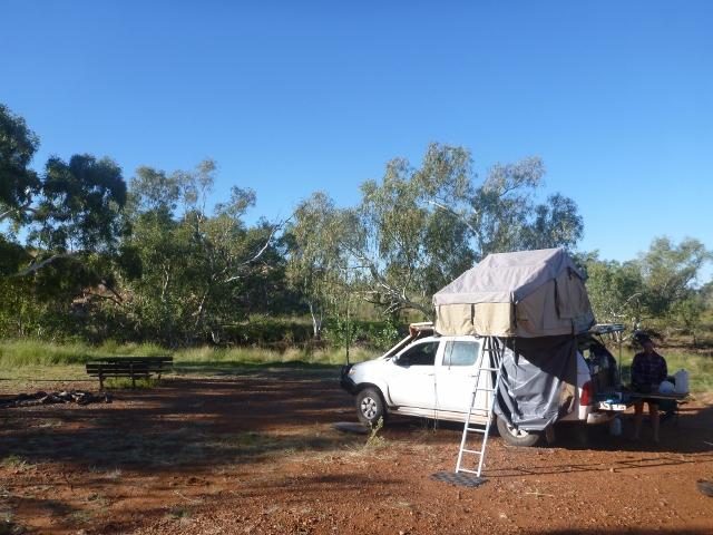 Davenport Ranges camp grounds