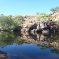 Davenport Ranges Whistleduck Creek waterhole
