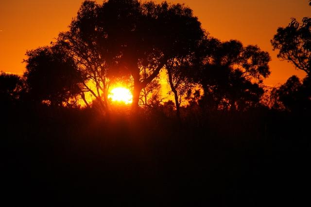 davenport ranges sunrise shot
