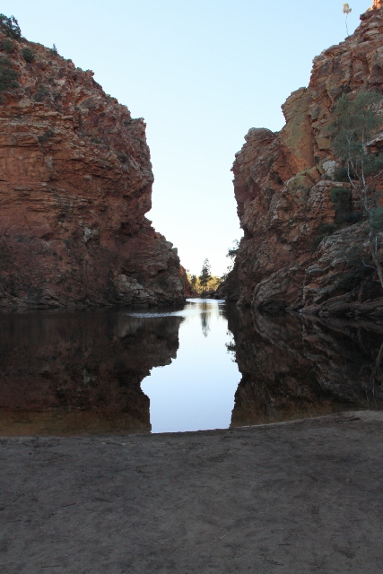 Ellery Creek Big Hole waterhole