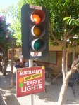 Daly Waters traffic lights