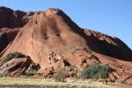 Climb up Uluru