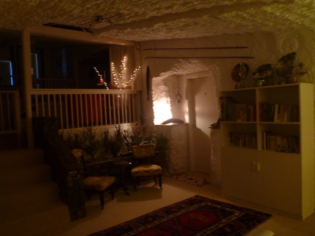Lounge, Underground Bed and Breakfast, Coober Pedy