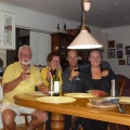 Dinner with Ken & Ana, Underground Bed and Breakfast, Coober Pedy