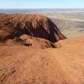 View from the top of Uluru