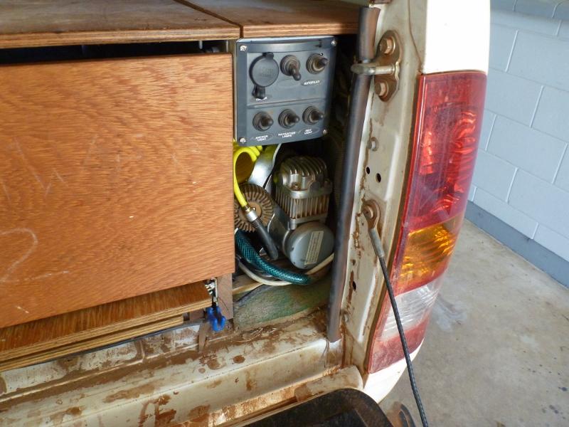 compressor in Hilux