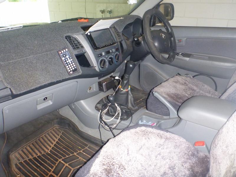 Hilux interior