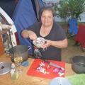 Cooking Dinner at the caravan park in Darwin