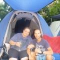 Me and Mum at Darwin Caravan Park