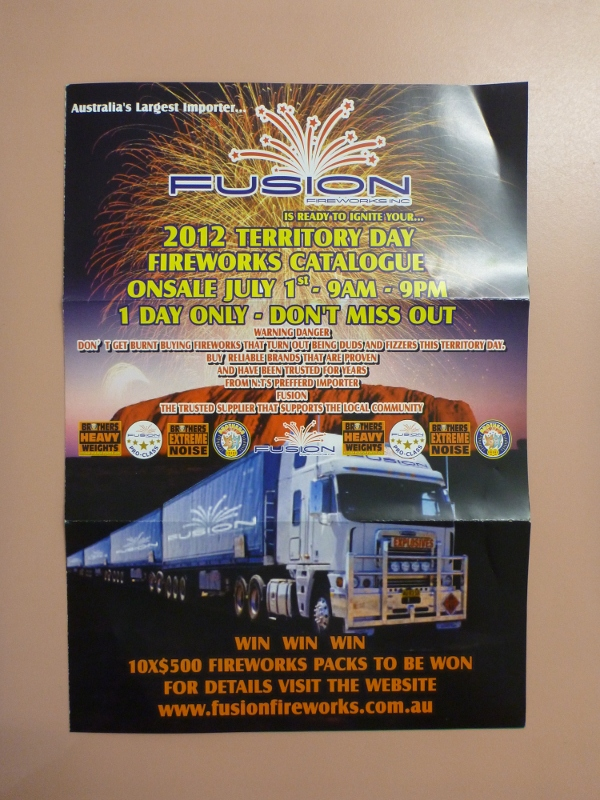 territory day fireworks catalog