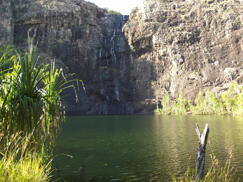 base of gunlom falls, kakadu national park