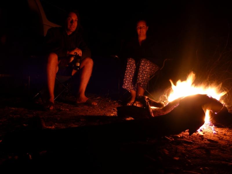 campfire at oolloo crossing