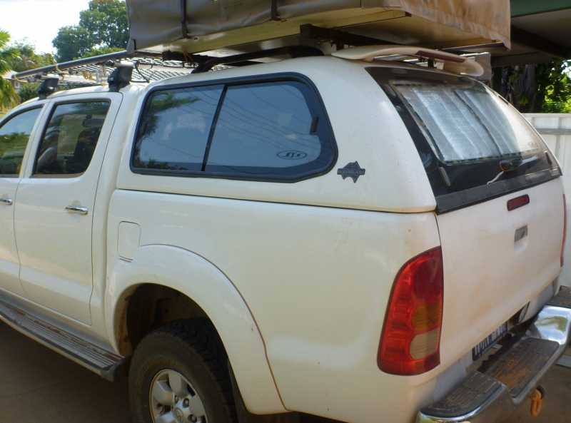 Hilux Canopy and Canopy Roof Racks for Roof Top Tent – outbackjoe