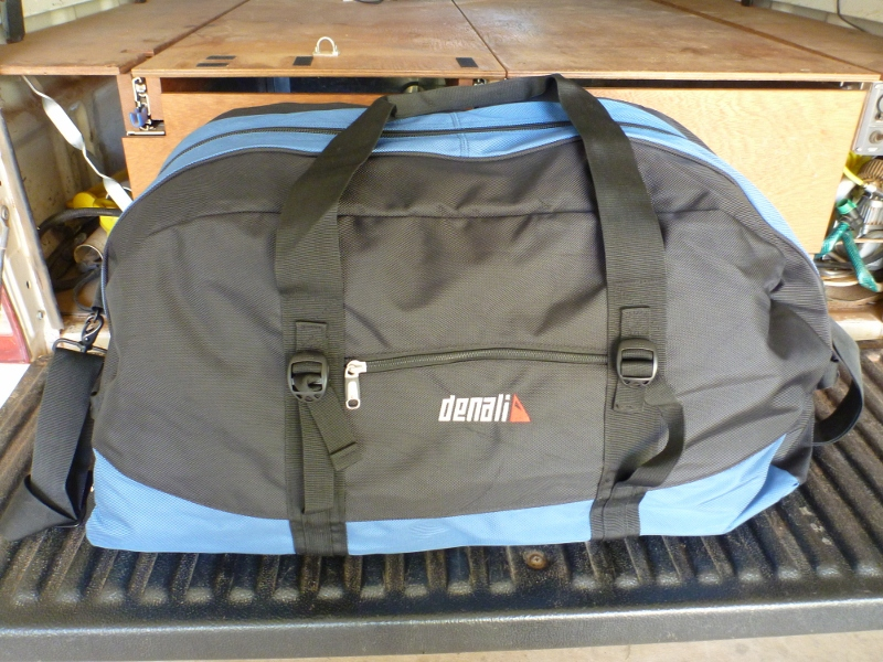 denali 100L transit duffle bag for 4WD touring