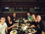 dinner at Thai restaraunt, darwin