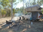 drovers rest camp ground, gregory national park