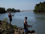 fishing at buffalo creek