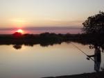 Malcolm fishing at shady camp