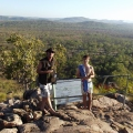 top of gunlom falls, kakadu national park