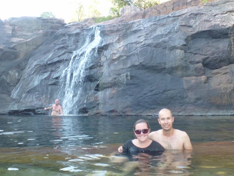 top of gunlom falls, kakadu national park