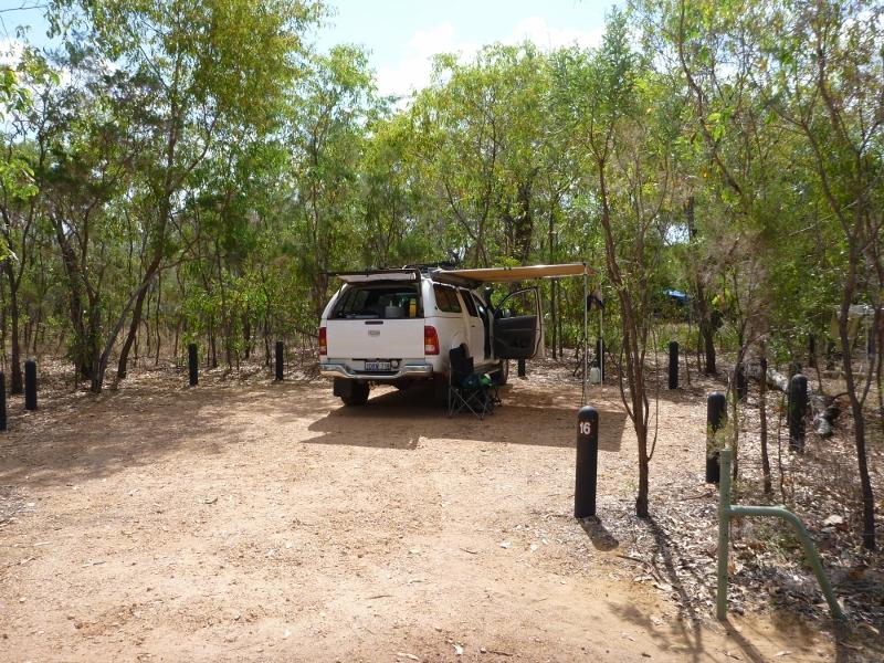wangi falls camping area