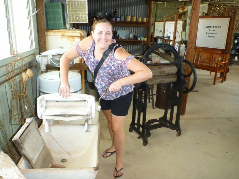 katherine museum washing clothes