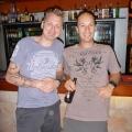Joe and Simon at rjs bar katherine